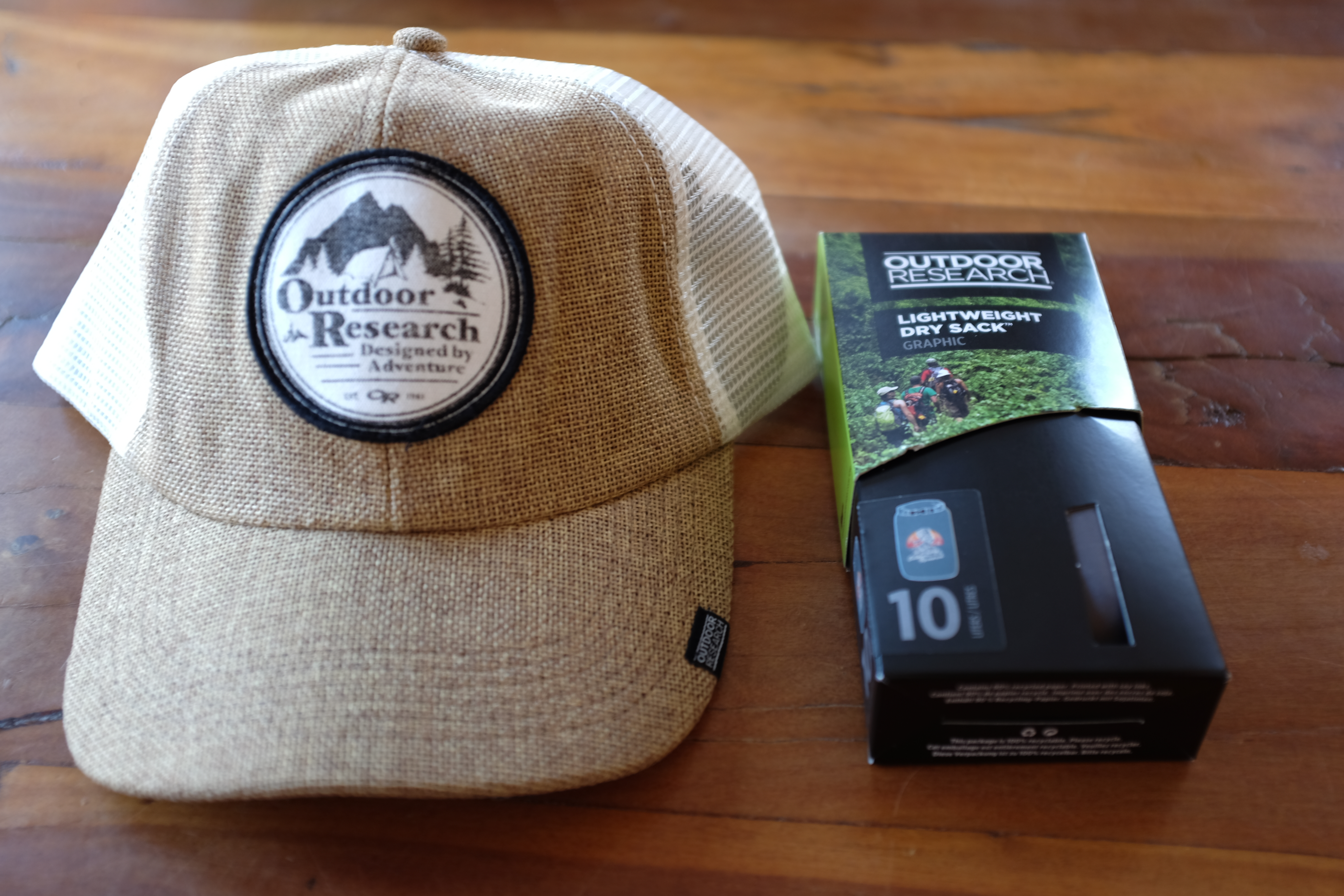 4c0ae463 First Place will win: One Big Rig Trucker Hat (one size fits all), one  10Liter Lightweight Drysack, and one pair of Outdoor Research's Awesome  Crack Gloves ...