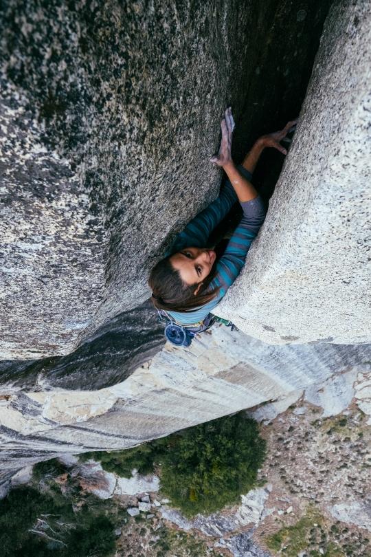 Miranda Oakley on Tales of Power, Yosemite, CA